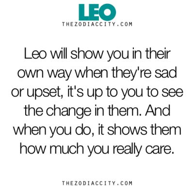 Zodiac Leo Facts.
