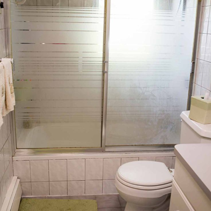 How Much To Remodel A Bathroom Shower: BEFORE: The Tuzzolo Family Bathroom Managed To Look Grimy
