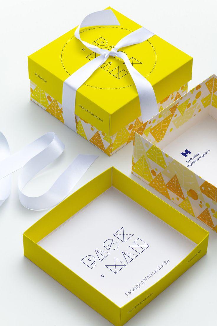 Big Gift Box Mockup 02 by Ktyellow  on @originalmockups