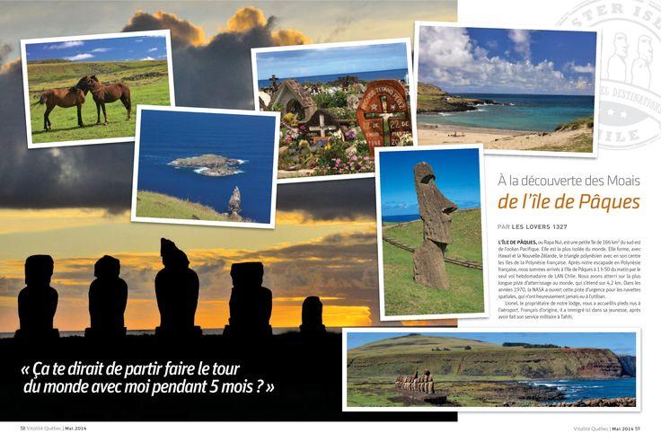 A la découverte des Moais de l'Île de Pâques