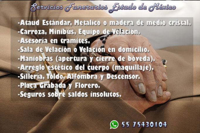 Funerales y ataudes  El Nopal Texcoco Estado de México whats: 5575430104   https://www.webselitemx.com/funerales-y-ata%C3%BAdes-texcoco/