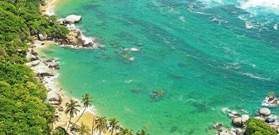 Disfruta de las playas de Santa Marta  