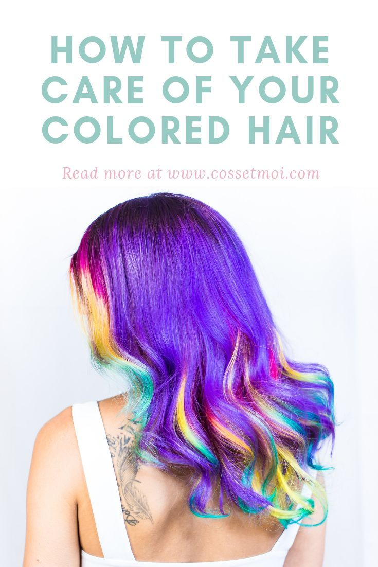 Five Hair Care Secrets For Your Colored Hair With Images Hair