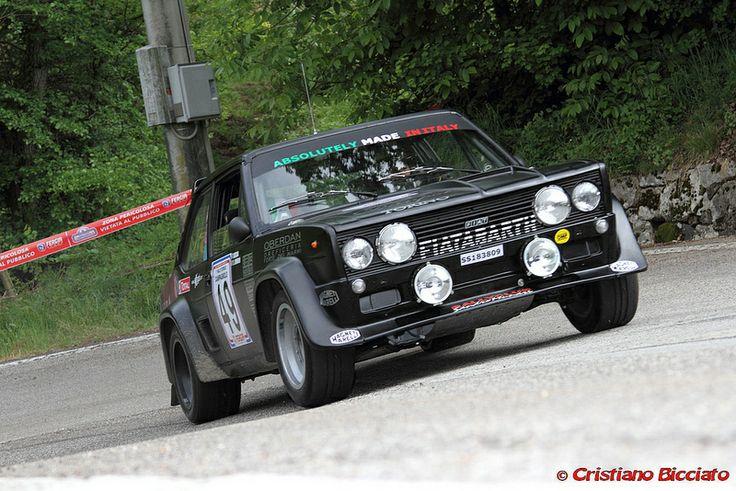 Fiat 131 Abarth Rally Car Fiat Cars Fiat