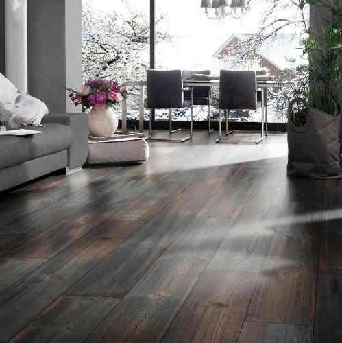 nuevo piso flotante de kronotex alta gama 12mm ac5 colocado