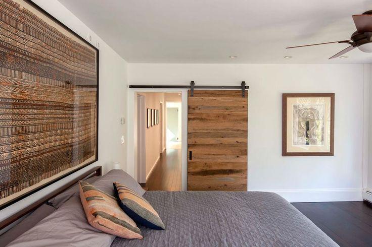 17 best ideas about modern barn doors on pinterest for Farmhouse sliding door