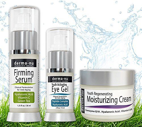 EVERYDAY SKINCARE ROUTINE... Shomei Organic Skincare Anti-Aging Serum Trio Pack: Vitamin C Serum (.5 oz), Retinol Serum (.5 oz) & Hyaluronic Acid Serum (.5 oz) for Anti Wrinkle and Dark Circle Remover Skin Care Products for Anti Aging - Facial Treatments for the Skin - The Most Effective...