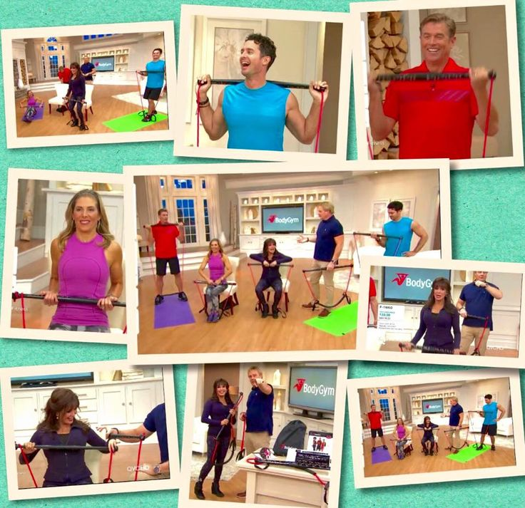 Osmond qvc exercise bar tj buxton mindy marie