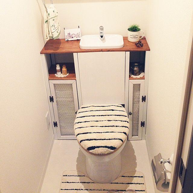 トイレ改造/DIY/バス/トイレのインテリア実例 - 2014-07-21 14:03:07 | RoomClip(ルームクリップ)