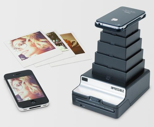 Instant Lab: Turn iPhone Images into Real Photos