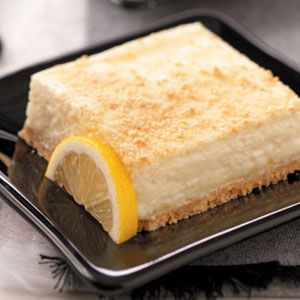 Lemon Fluff Dessert Recipe -Wondering what to do with the can of evaporated milk and graham crackers in your pantry? Try this light, lip-smacking treat with a lovely lemon flavor for dessert tonight. Or make it a day ahead and refrigerate for convenience. Leola McKinney - Morgantown, West Virginia