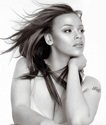 Don't really give a d**n what size... I've love Faith since the beginning...    Faith Evans