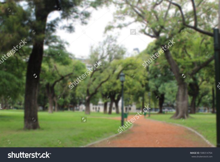 Blurred park background on shutterstock #stockphotos #stock #photos #blur #park