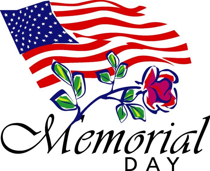 Memorial Day Background Clipart