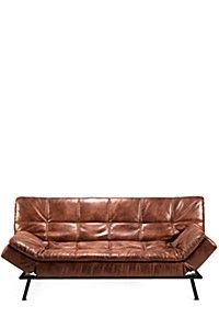 DISTRESSED SLEEPER COUCH