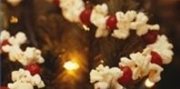 How to String Popcorn and Cranberries: Decor Ideas, Cranberries Garlands, Popcorn Garlands, Christmas Decor, Popcorn Cranberries, Christmas Garlands, Christmas Ideas, Christmas Trees, Outdoor Christmas