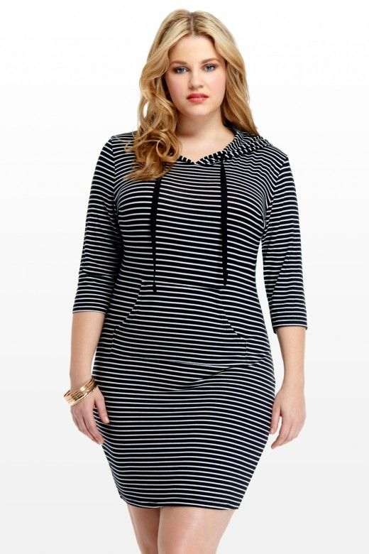 43 best images about Hoodie Dresses: Plus Size on Pinterest ...