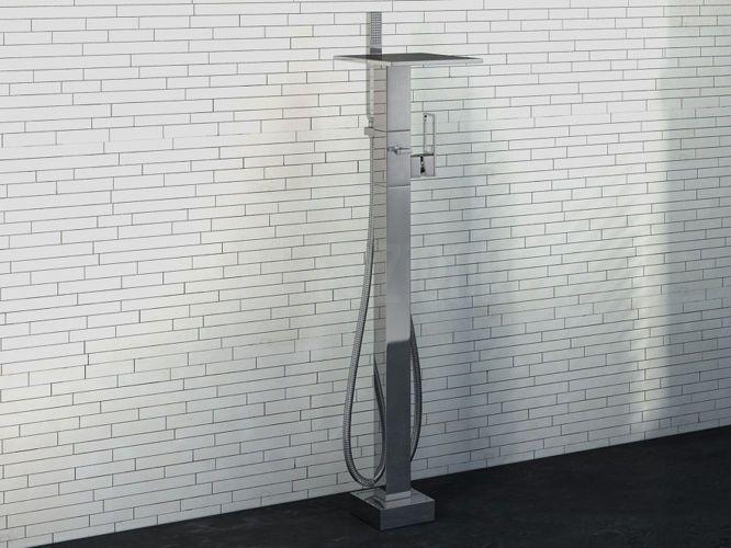 standing bathtub faucet #faucet #tap #bathroom #washbasin #lazienka #umywalka #bateria