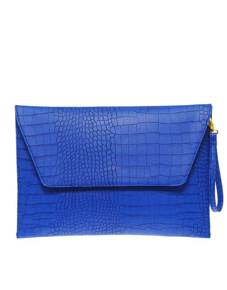 ... , Cobalt Blue, Laptops Cases, Bags, Envelopes Clutches, Clutches Asos
