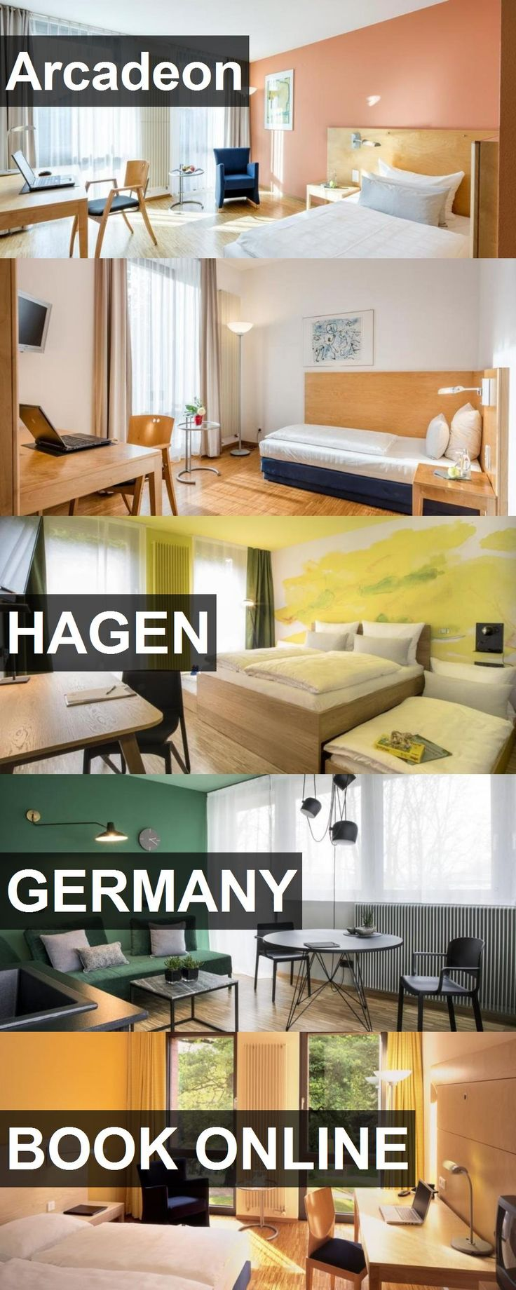 Hotel Arcadeon in Hagen, Germany. For more information, photos, reviews and best prices please follow the link. #Germany #Hagen #travel #vacation #hotel