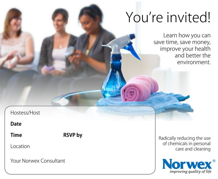 learning about norwex products has never been easier invitations are provided get a kitchen - Norwex Party Invitation