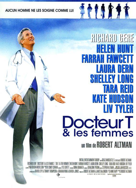 docteur t les femmes robert altman 2001 adaptation addressdesign movie poster. Black Bedroom Furniture Sets. Home Design Ideas