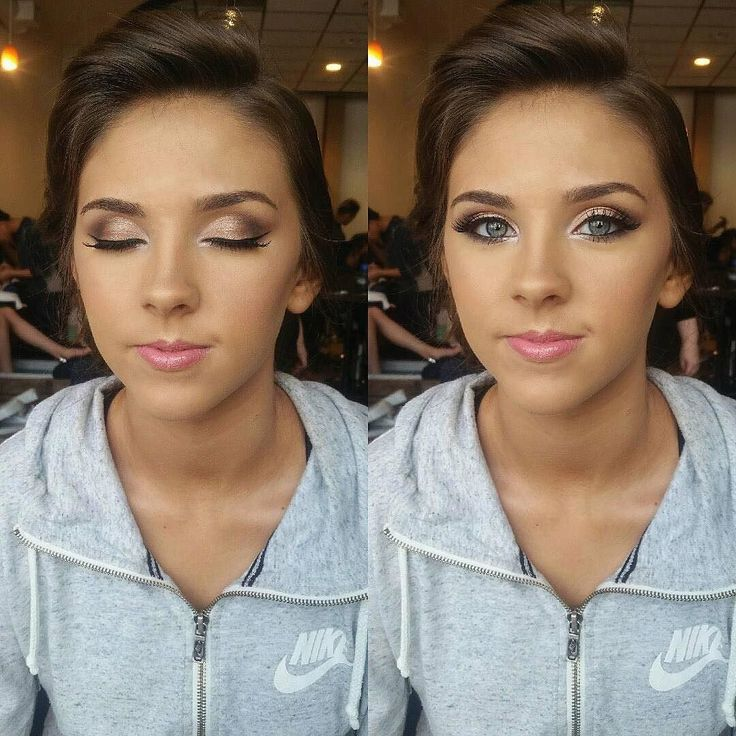 Sunday glam by this beauty! @preetycure_mua wearing #MotivesCosmetics  Happy Sunday!! The weeks are flying by! Here is one of the Prom makeup looks I did yesterday on one of our clients at Portland Beauty School. Isnt she beautiful?!?! Love her eyes. I used: @loraccosmetics Pro Palette on the eyes @motivescosmetics Little Black Dress Gel liner Color Perfection Quad in Medium and Bronzer and Blush Duo @anastasiabeverlyhills So Hollywood Illuminator #makeup  #mua #glam #beauty