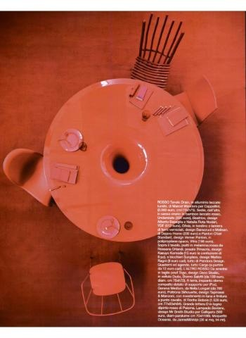 CAPPELLINI Drain Table by Marcel Wanders