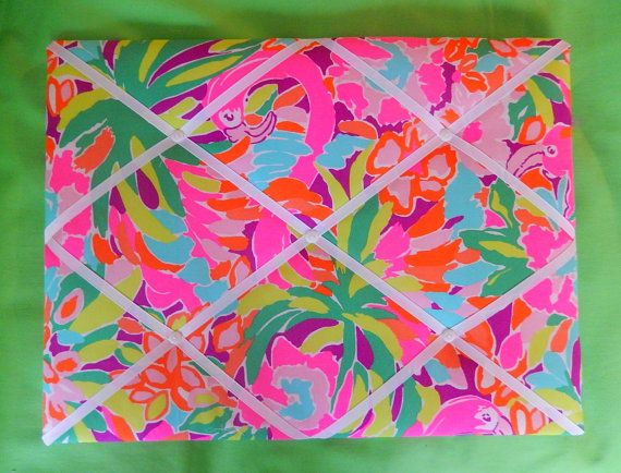 New Memo Board Made With Lilly Pulitzer Lulu By Garnet