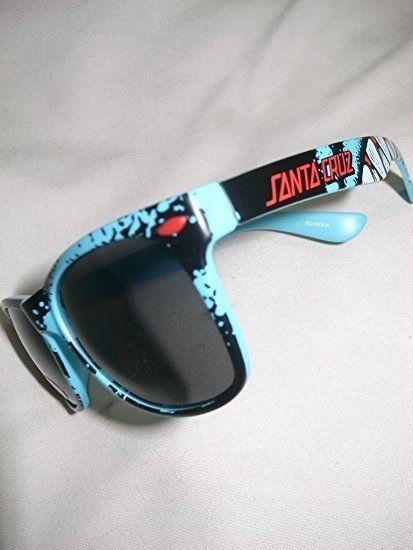 SANTACRUZ サンタクルーズ RETRO SHARK レトロシャーク トイサングラス ブルー 青x黒