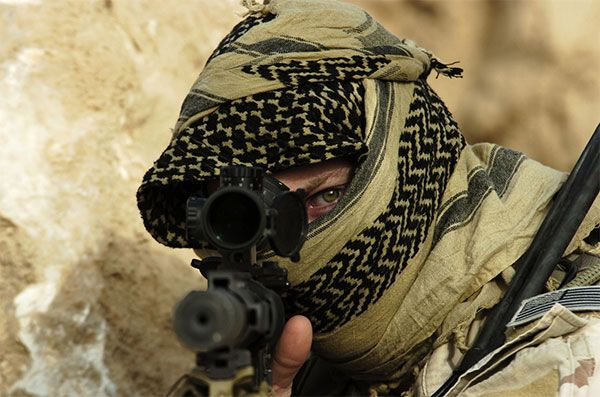 special forces - sniper rifle