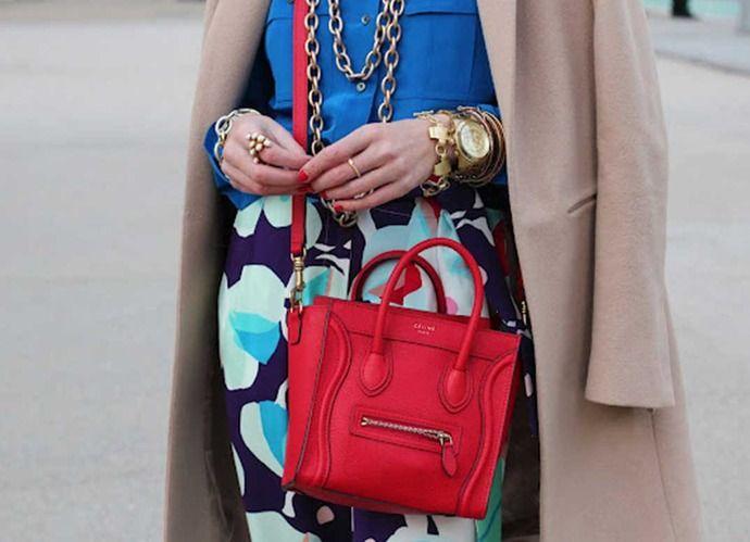 Why You Should Invest in a Statement Bag | Levo League |         corporette, fashion, professional attire, statement bag