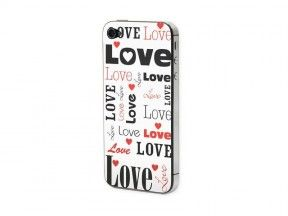 Προστατευτικό Αυτοκόλλητο για iPhone 4/4S ( Love)