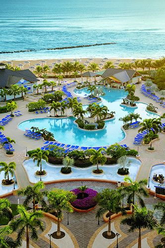 Travel Destinations - Best Warm Weather Resorts - St. Kitts Marriott Resort & Royal Beach Casino in Frigate Bay, St. Kitts