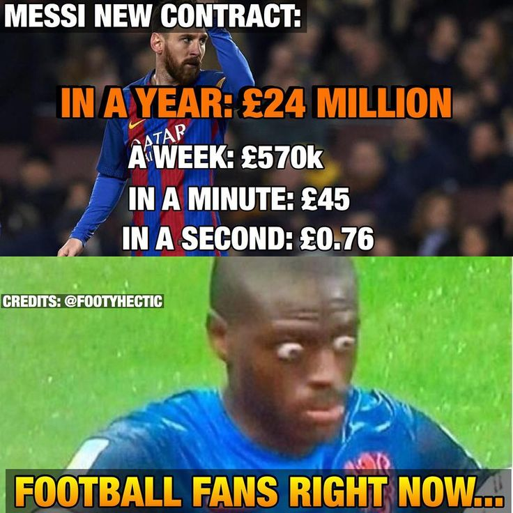 Messi's new contract😱  Tag friends 👥❤️  Follow @footyhectic for more!💪  -  #Likeforlike #likeforfollow #ronaldo #respect #realmadrid #repost #griezmann #germany #EURO2016 #euro2016 #football #neymar #messi #pogbadab #pique #portugal #france #euro #soccer #msn #bbc #bale #benzema #suarez #⚽ #barcelona #xavi #zidane #halamadrid #manchesterunited