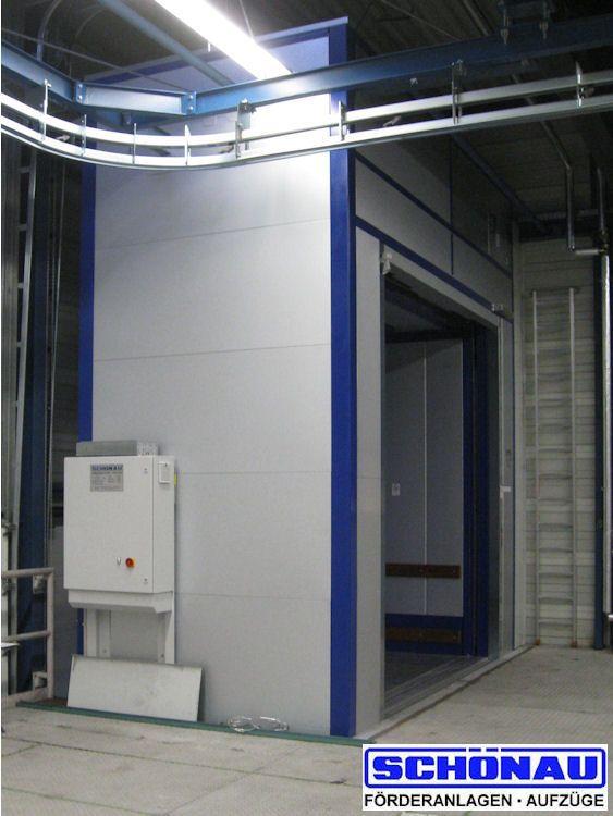 Lastenaufzug - SCHÖNAU Maschinenfabrik GmbH