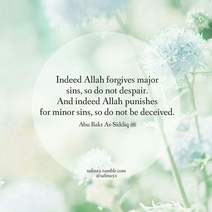 ~Hazrat Abu Bakr(May Allah be pleased with him)
