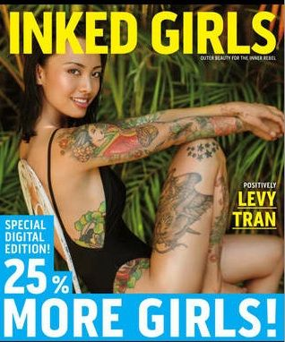 Get a sneak peak of the latest issue of Inked Girls subscribe 25% More Content for Digital Subscribers https://itunes.apple.com/app/inked-girls-magazine/id493549575?mt=8