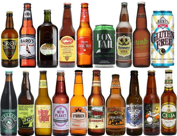 Gluten Free Beers Big List