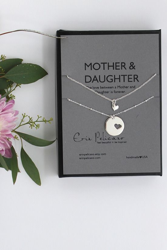 Daughters+Sons Be Good To Your Mothers With Erin Pelicano Necklaces