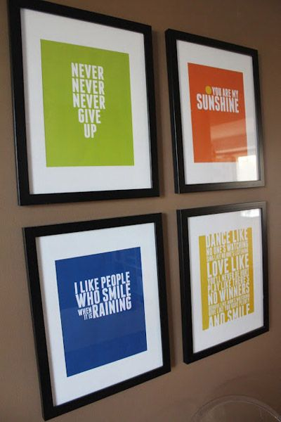Office Inspiration Art