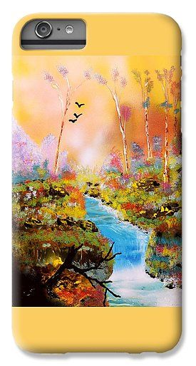 Land Of Oz IPhone 6s Plus Case Printed with Fine Art spray painting image Land Of Oz by Nandor Molnar (When you visit the Shop, change the orientation, background color and image size as you wish)
