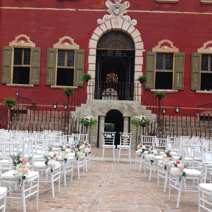 Wedding ceremony  in Villa Molza  | Set and Floral design by nozze e dintorni
