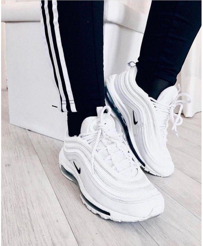 check out 9ca06 080c1 Femme Nike Air Max 97 Blanc Noir
