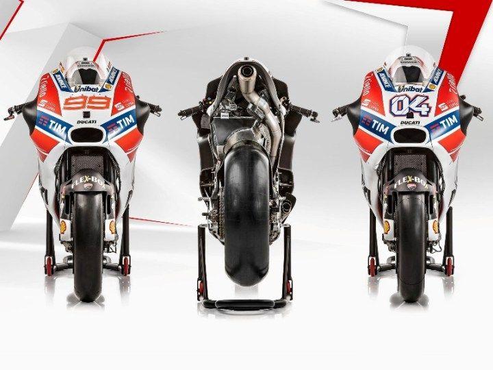 Presentata a Borgo Panigale la nuova Ducati Desmosedici GP che correrà il Campionato Mondiale nel 2017 in presenza dei due piloti, il confermato Dovizioso e il nuovo arrivo Lorenzo. Tutto sembra pr…