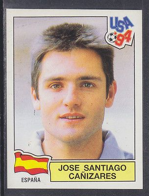 Panini - usa 94 world cup - # 197 jose #canizares - #espana (green #back),  View more on the LINK: http://www.zeppy.io/product/gb/2/301293739433/