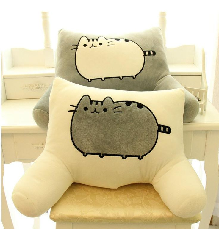 Stuffed & Plus Animals Wholesaler Fanqx918 Sells Pusheen Cat Big Pillow Cushion Biscuits Cat Plush Toy Doll Of Big Face Cat Tail Cat Doll Waist By Office Waist Pillow | Dhgate.Com