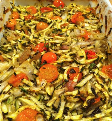 Baked Zucchini & Herbs – Recipe Of The Week