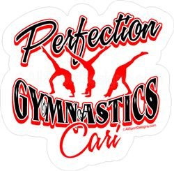 Best Gymnastics Car DecalsTShirtsMagnetsWall Decals Images - Custom car magnets and stickerscar decals magnets wall decals and fundraising for softball