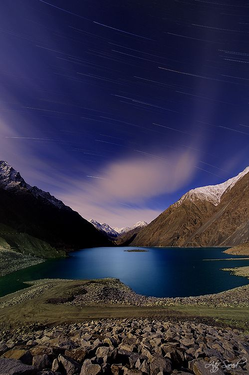 Satpara Dam ~ Skardu, Pakistan [photo by Atif Saeed, Lahore, Pakistan]....